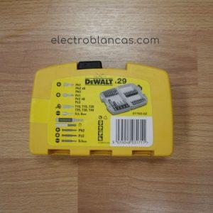 caja puntas DE WALT DT7922-QZ 29 uds. - electroblancas