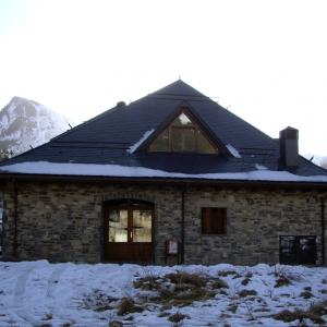 consultorio médico municipal de Sallent de Gállego