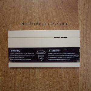 embellecedor frontal mando EGI W12DBL - formato D - electroblancas