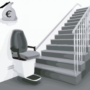 escaleras discapacitados - electroblancas