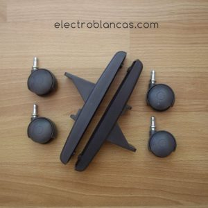 juego ruedas para placas radiador (haverland) - electroblancas