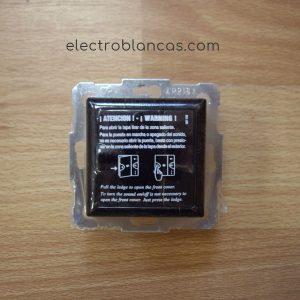mando 2 canales EGI D45U mono - empotrar - c scan. - f. universal - electroblancas