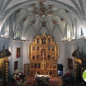 iluminación iglesia parroquial de Sallent de Gállego