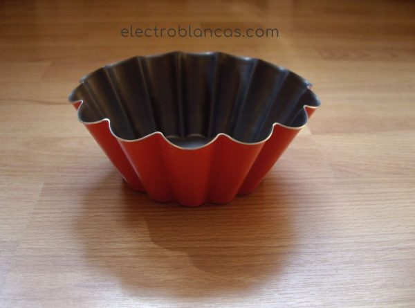 flanera mediana roja ondulada - electroblancas