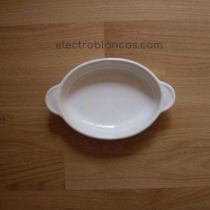 fuente ovalada microondas gres ref. 00037 - electroblancas