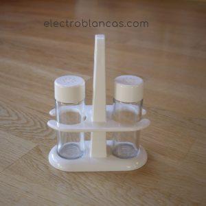 juego saleros gourmet ref. 00046- electroblancas