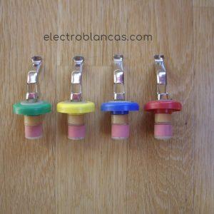tapon botella colores surtidos ref. 00054 - electroblancas