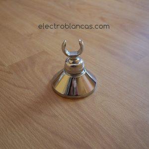 soporte ducha laton cromo ref. 00086 - electroblancas
