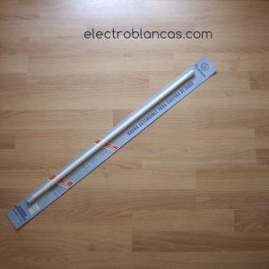 barra ext. cortina baño blanca 1,25x2,20 ventosas ref. 00102 - electroblancas