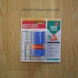 empalme rapido ext.min.16xmax22mm. 00145 - ref. 00120 - electroblancas