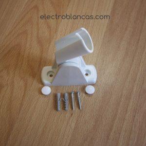 soporte ducha blanco ref. 00098 - electroblancas