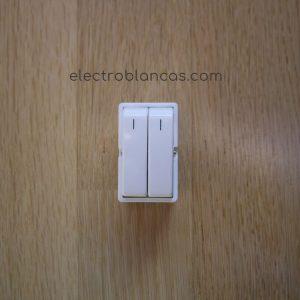 doble interruptor eunea 3005N-B metropoli- electroblancas