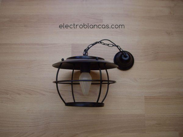 aplique colgante barco 1xE27 ref. 00168 - electroblancas