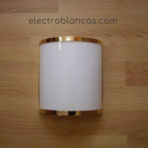 aplique mural blanco-oro ref. 00184 - electroblancas